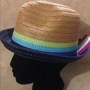 Other - Child Fedora straw Hat